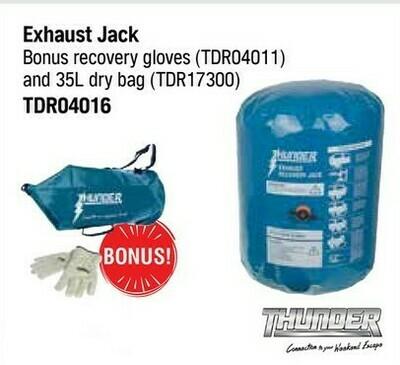 THUNDER EXHAUST JACK WITH BONUS