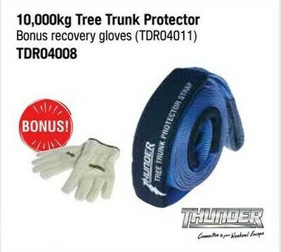 THUNDER 10,000KG TREE TRUNK PROTECTOR WITH BONUS