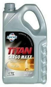 FUCHS TITAN CARGO MAXX SAE 10W-40 5L