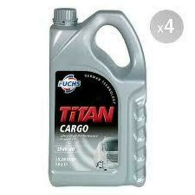 FUCHS TITAN CARGO SAE 15W-40 5L