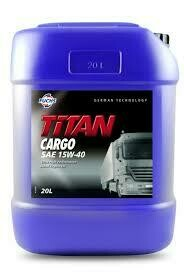 FUCHS TITAN CARGO SAE 15W-40 20L
