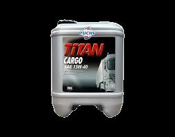 FUCHS TITAN CARGO SAE 15W-40 10L