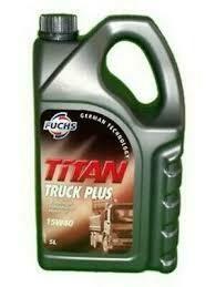 FUCHS TITAN TRCK PLUS SAE 15W-40 5L