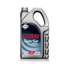FUCHS TITAN SUPERSYN LONGLIFE SAE 5W-40 5L