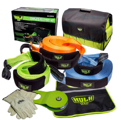 HULK LARGE RECOVERY KIT ASSORTED PRODUCTS WITH BAG
