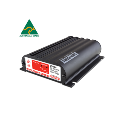REDARC 24V 20A IN-VEHICLE LIFEPO4 BATTERY CHARGER