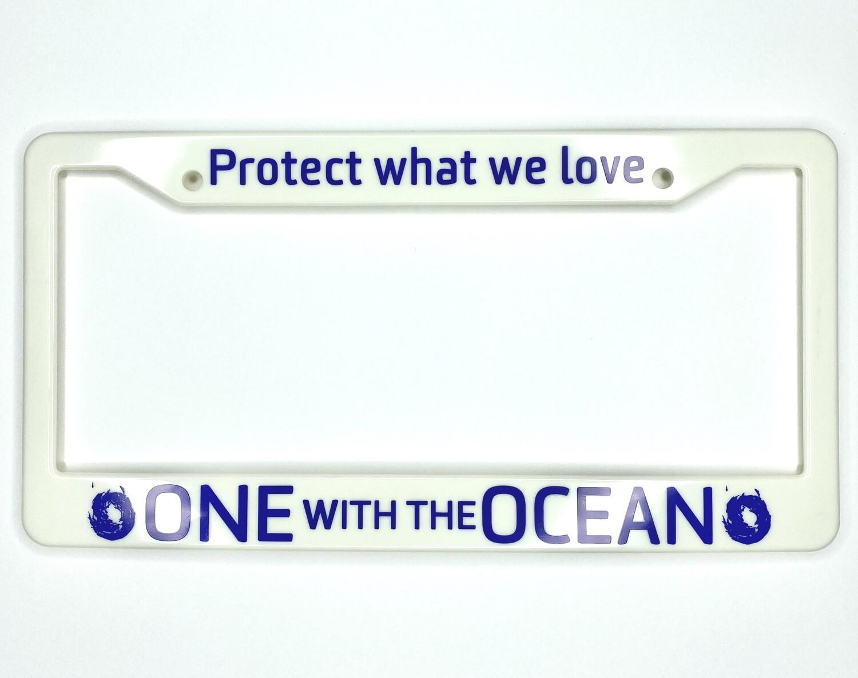 OWO License Plate Frame