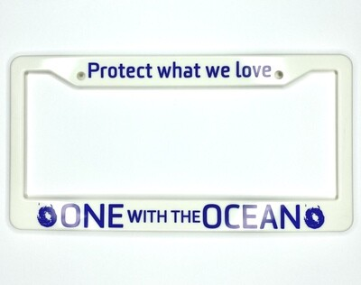 OWO License Plate Frame