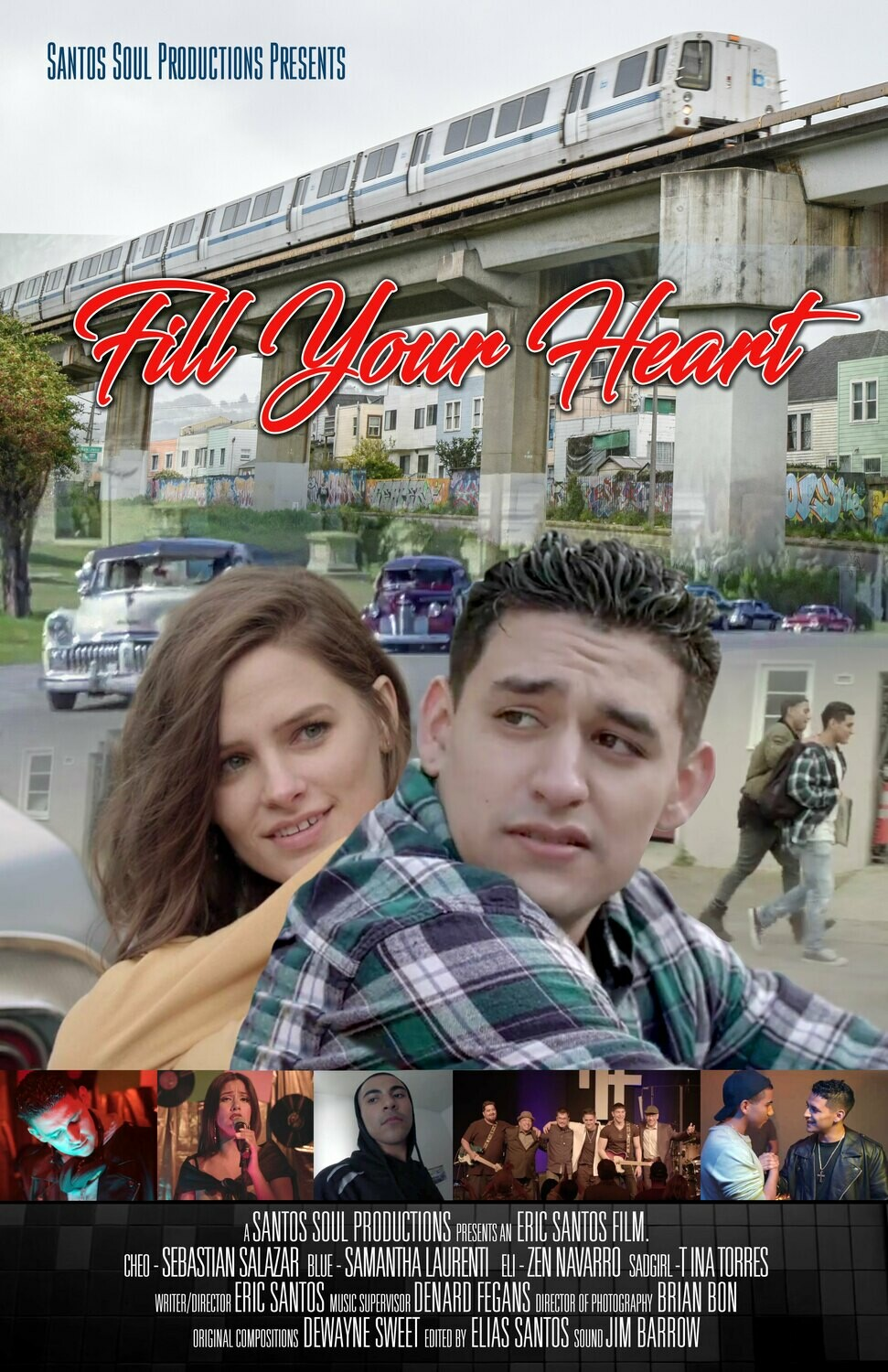 """Fill Your Heart"" Movie Poster"