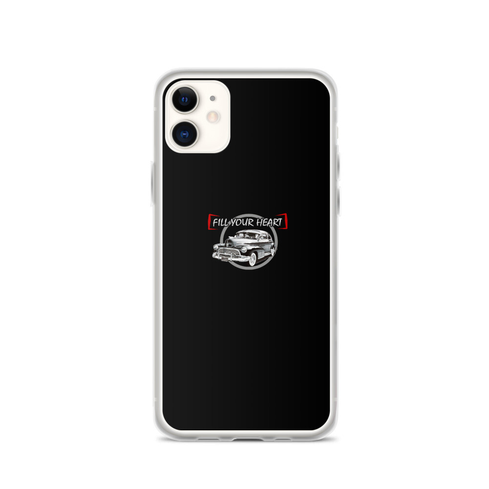 Fill Your Heart iPhone Case