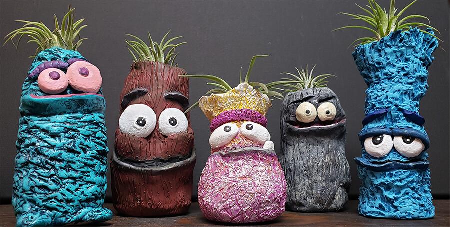 Critter Planters LIVE ONLINE Workshop