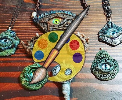 Monster Eye Pendant Supplies