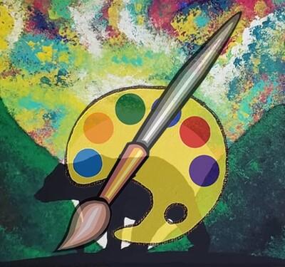 Bear Moon Canvas Supplies