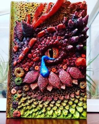 Handmade Tear Dragon Journal