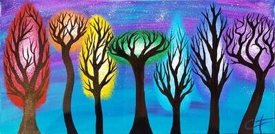 Chakra Forest Canvas LIVE ONLINE Workshop