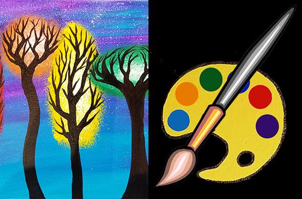Chakra Forest Canvas Supplies