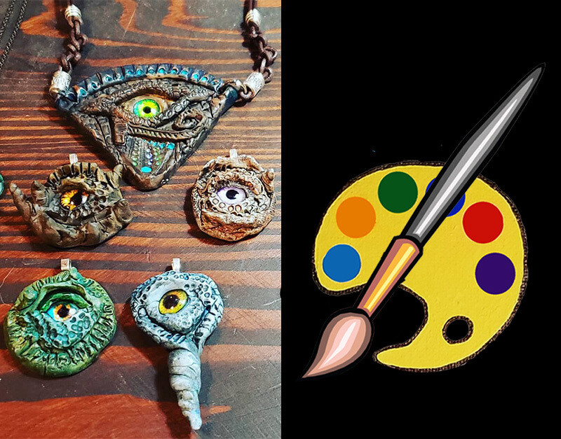 Bewitched Eye Pendant Supplies