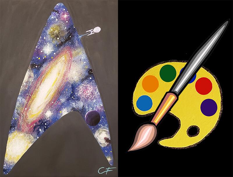 Star Trek Universe Canvas Supplies