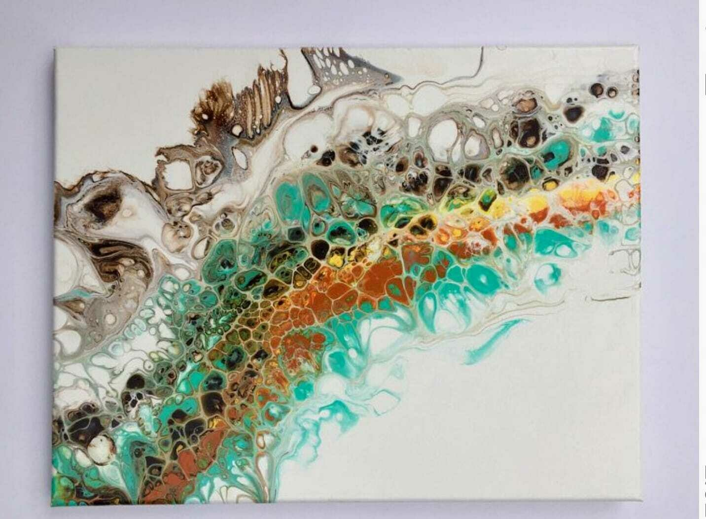 Acrylic Pouring Swipe Method LIVE ONLINE Workshop