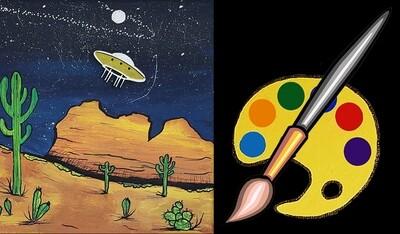 Desert Dreams Canvas Supplies