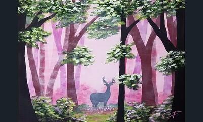 Deep Woods Canvas IN-STUDIO Workshop