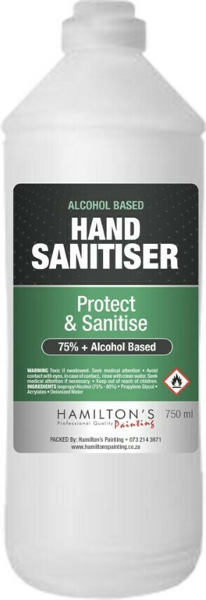 Hand Sanitizer 750ml