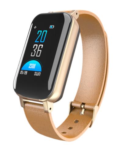T89 TWS 2 in 1 Smart Binaural Bluetooth Headphone Fitness Bracelet Heart Rate Monitor Smart Wristband Sport Watch Men Women