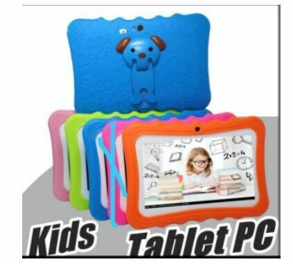 2 for the price of 1 - 7 Inch Quad Core Lovely Android Educational Kids WIFI Tablet PC Q88 Tablet For kids (2 Tablets included)