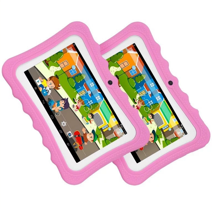 2 for the price of 1 - 7 Inch Quad Core Lovely Android Educational Kids WIFI Tablet PC Q88 Tablet For kids