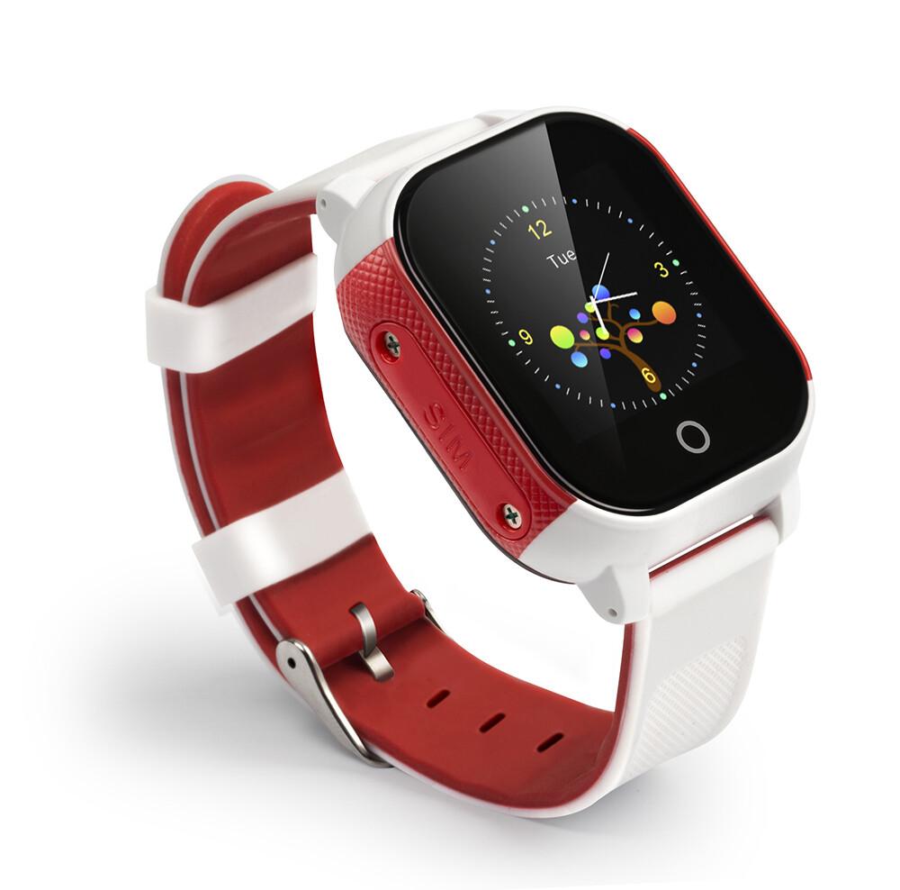 Waterproof GPS Tracking smart watch for kids, live GPS tracking via app