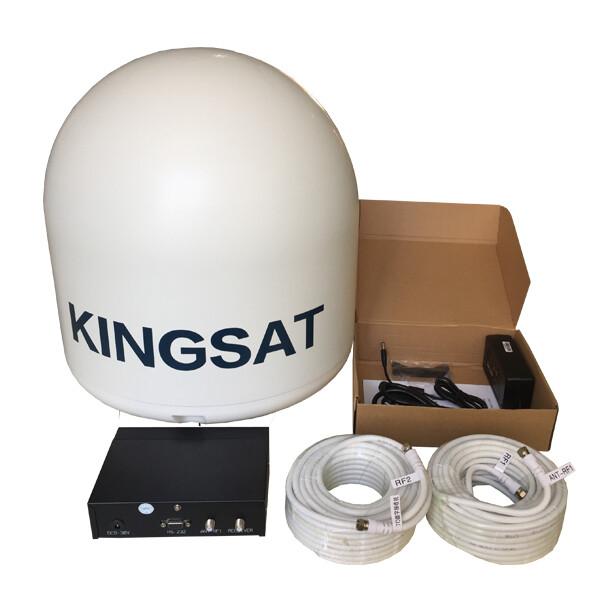 Kingsat maritime satellite TV for your boat or vessel