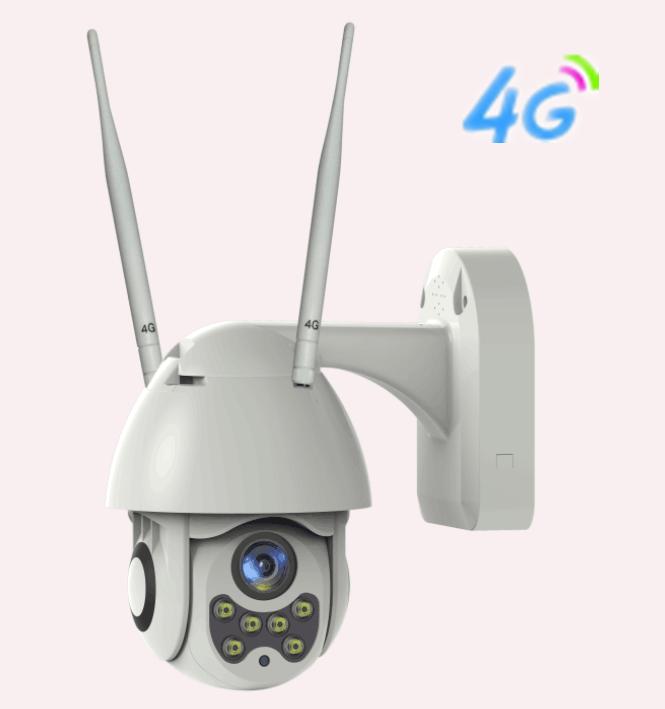 Waterproof 4G 3.0MP Smart PTZ Camera 2.8-12mm lens P2P Wifi Wireless IP Camera Outdoor CCTV 4 PTZ Camera