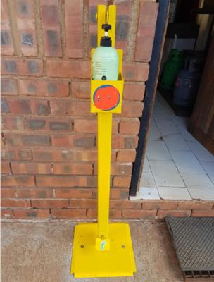 Hands-Free Foot Operated Standup Sanitiser Dispenser 1.1M