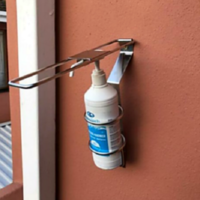 Hands-Free Elbow Operated Sanitiser Dispenser