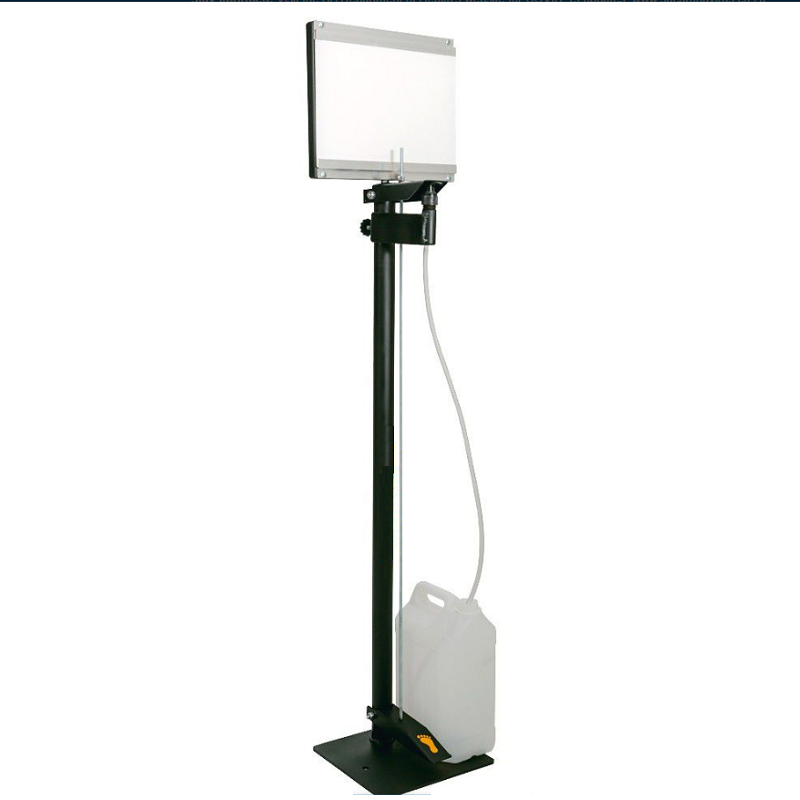 Hands-Free Foot Operated Standup Sanitiser Dispenser With Adapter