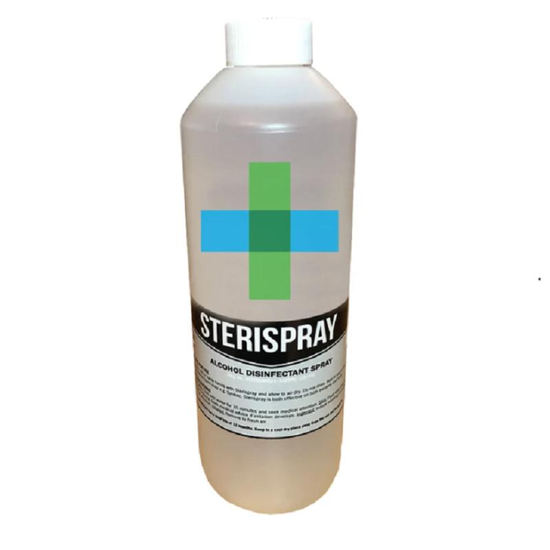 Liquid Hand Sanitiser 70% - 500ML