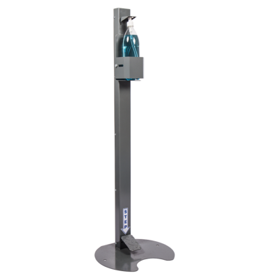 Hands-Free Foot Operated Standup Sanitiser Dispenser
