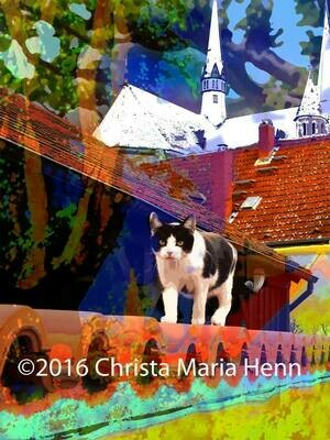 Dein Liebling auf Leinwand  Catwalk / Spring in the city / St.Stephan