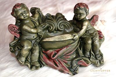 Paradiesischer Weihwasserkessel Keramik