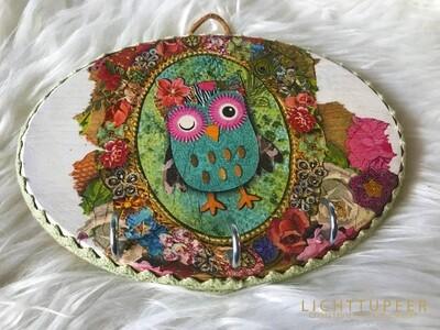 Piepmatz Schlüssel oder Schmuckbrett Birdie Sweet decorative wooden board