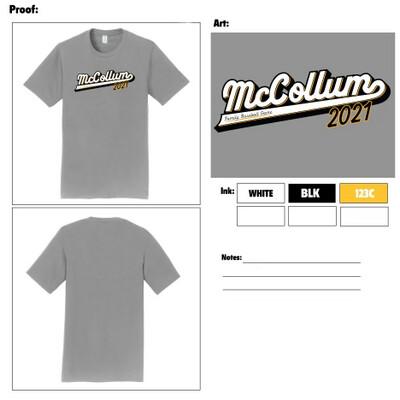 McCollum Family Baseball Game Shirt