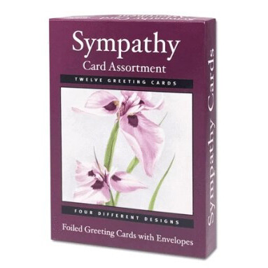 Sympathy Cards Assort (12)