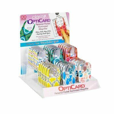 Clarity OptiCard Light-up Magnifier