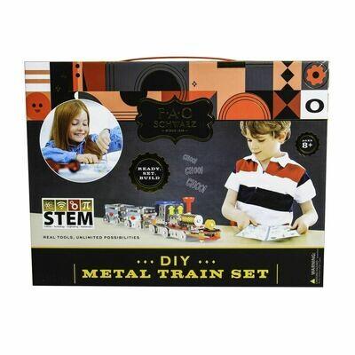 DIY Metal Train Set - FAO