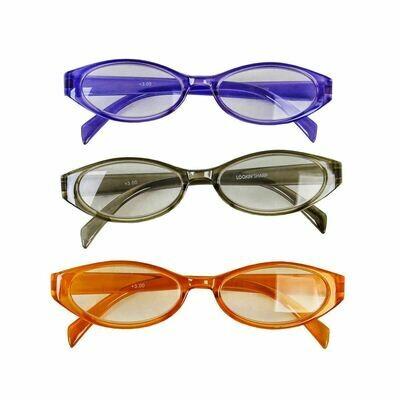 Lookin���?? Sharp Reading Glasses -Set of 3