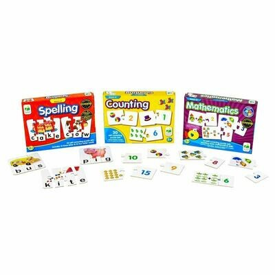 Match It 3 Set; Math, Spell, Count
