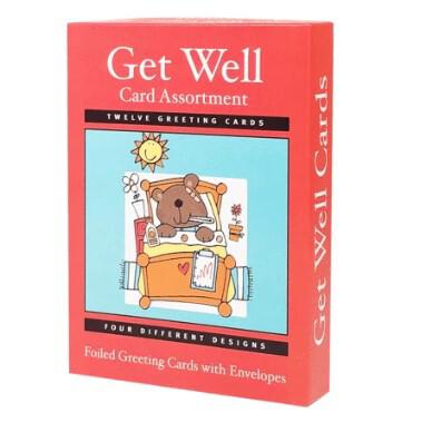 Get Well Cards Assort (12)