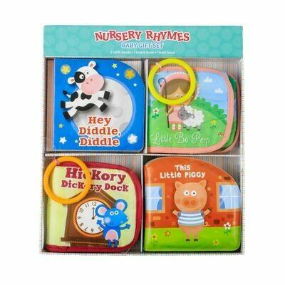 Nursery Rhymes Baby Gift Set 4pc