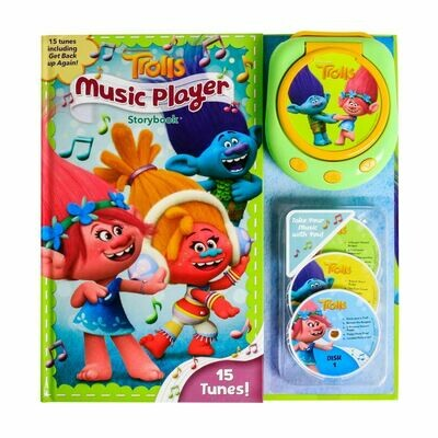Trolls Music Player Storybook