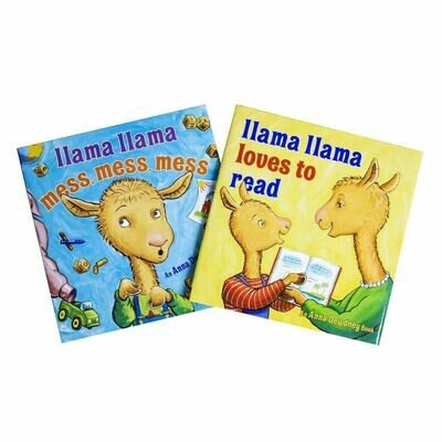 Llama Llama Mess Mess/Loves to Read (2 Set)